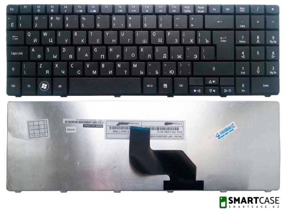 Клавиатура для ноутбука Acer Aspire 5534 (черная, RU)