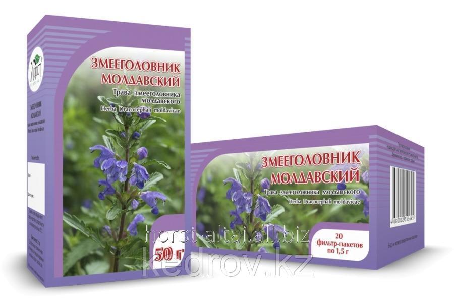 Змееголовник молдавский, трава 50 гр