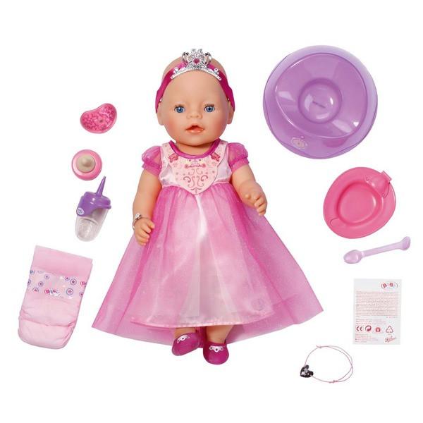 Baby born Кукла Принцесса Интерактивная, 43см