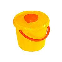 Пластиковый контейнер для острого медицинского инструмента, 6 л