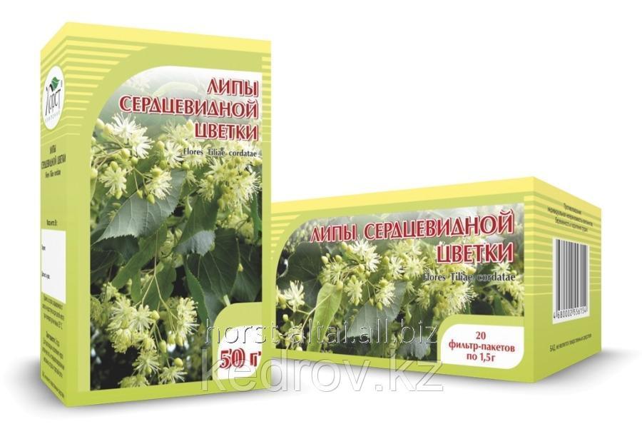 Липа, цветки 50 гр