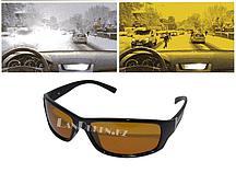 """Солнцезащитные поляризационные очки """"Антифары"""" (очки ПОЛАРОИД для водителей черные) 0001 С1"""