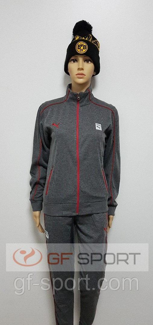 Спортивный женский костюм Puma(серый)