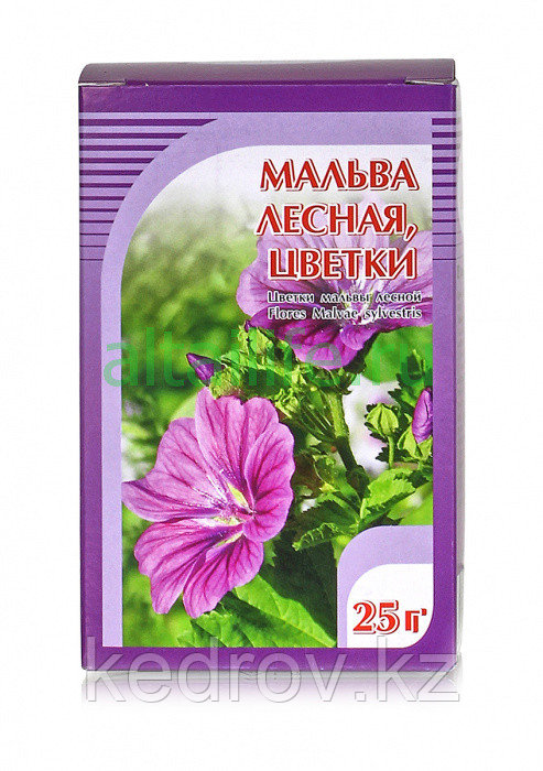 Мальва лесная, цветки 25 гр