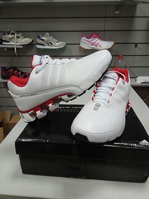 Кроссовки Adidas Рorsche Design IV (4) series бело-красные, фото 2