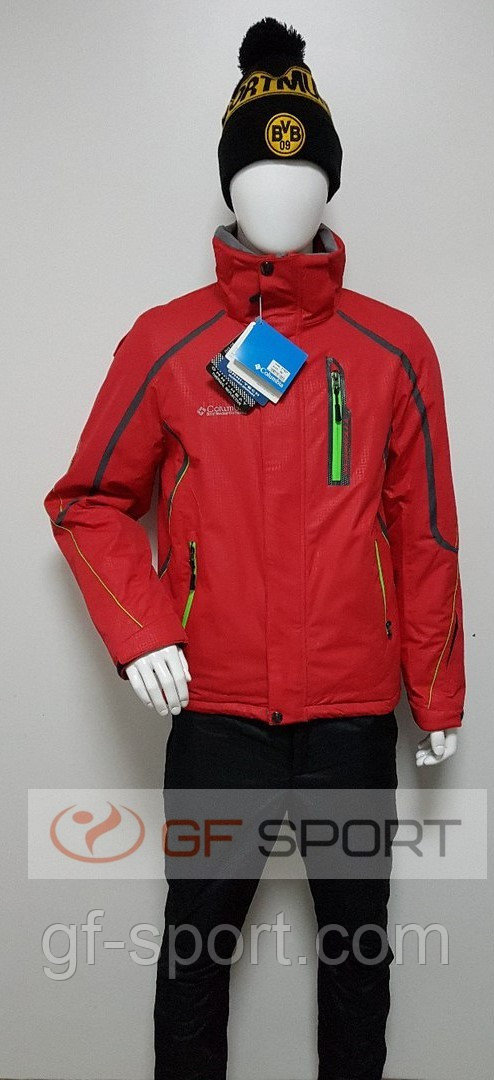 Костюм мужской горнолыжный Columbia(красный)
