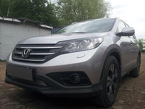 Защита радиатора Honda CR-V IV 2012-2015 2.0 chrome PREMIUM