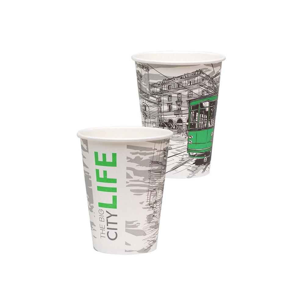 Стакан бумажный Big City Life для гор. напитков, 300мл