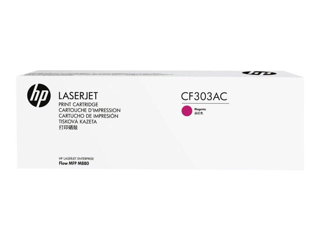 Лазерный картридж HP CF303AC (Оригинальный, Пурпурный - Magenta) CF303AC