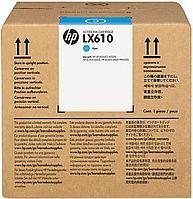 Струйный картридж HP LX610 (Оригинальный, Голубой - Cyan) CN670A