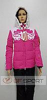 Костюм женский горнолыжный Russia(розовый)