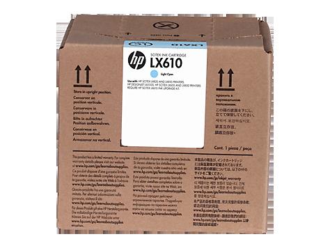 Струйный картридж HP LX610 (Оригинальный, Светло-голубой - Light Cyan) CN674A