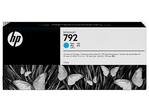 Струйный картридж HP 792 (Оригинальный, Голубой - Cyan) CN706A