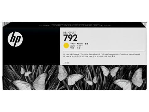 Струйный картридж HP 792 (Оригинальный, Желтый - Yellow) CN708A