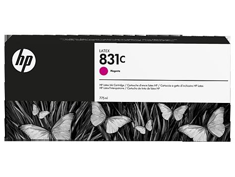 Струйный картридж HP 831с (Оригинальный, Пурпурный - Magenta) CZ696A