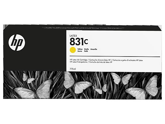 Струйный картридж HP 831с (Оригинальный, Желтый - Yellow) CZ697A