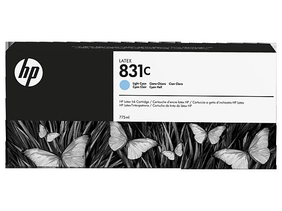 Струйный картридж HP 831c (Оригинальный, Светло-голубой - Light Cyan) CZ698A