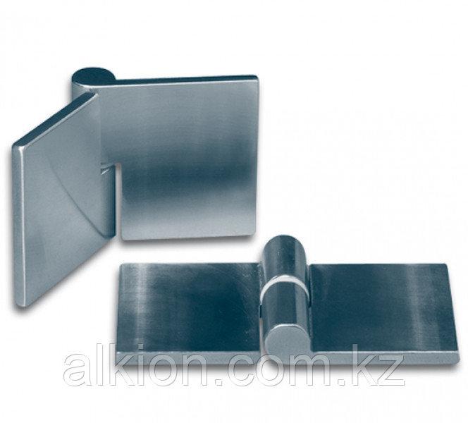 Петля мебельная для стеклянных дверей, правая. Для УФ - склеивания.