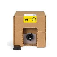Струйный картридж HP 871 (Оригинальный, Желтый - Yellow) G0Y81C