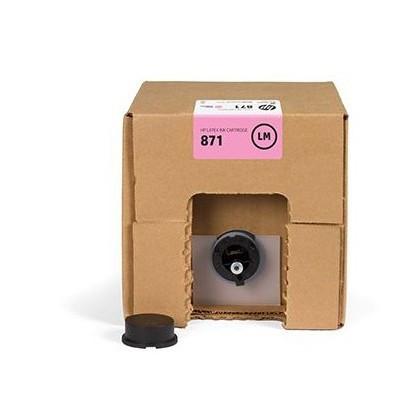 Струйный картридж HP 871 (Оригинальный, Светло-пурпурный - Light magenta) G0Y84C