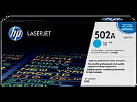 Лазерный картридж HP 502A (Оригинальный, Голубой - Cyan) Q6471A
