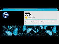 Струйный картридж HP 771c (Оригинальный, Желтый - Yellow) B6Y10A