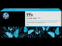 Картридж, HP (оригинал), B6Y14A, №771С, Светло-серый, Для принтеров HP DesignJet Z6200/Z6800