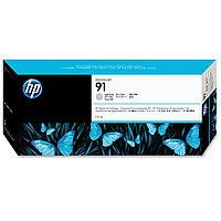 Картридж, HP (оригинал), C9466A, №91, Светло-серый, Для принтеров HP DesignJet Z6100