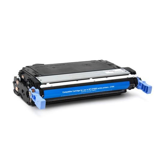 Картридж, Katun, CB401A, Синий, Для принтеров HP Color LaserJet CP4005
