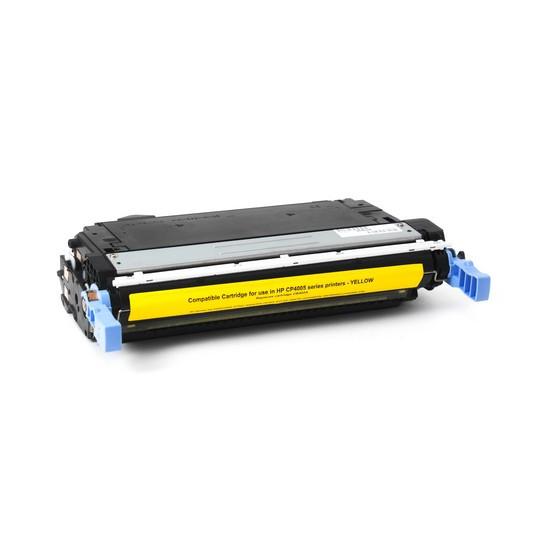 Картридж, Katun, CB402A, Жёлтый, Для принтеров HP Color LaserJet CP4005