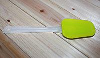 Кулинарная лопатка, гелевая, зеленая, 200 мм
