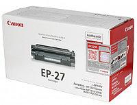 Лазерный картридж Canon EP-27 (Оригинальный, Черный - Black) 8489A002