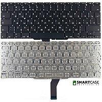 Клавиатура для ноутбука Apple MacBook Air A1370 (черная с подсветкой, RU)