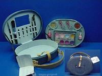 Детский набор косметики в кейсе-чемодане джинса