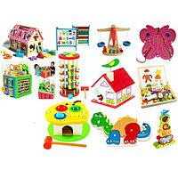 Детские развивающие игры и игрушки