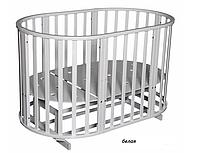 Кроватка Антел Северянка 3 белый, фото 1