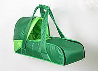 Сумка переноска для новорожденных Фея Зеленый