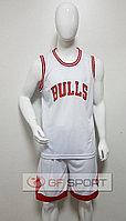 Форма баскетбольная Chicago Bulls(белая)