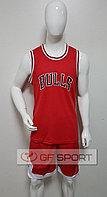 Форма баскетбольная Chicago Bulls(красная)