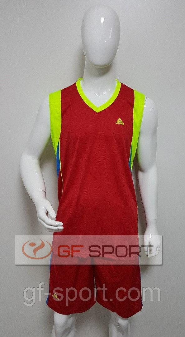 Форма баскетбольная Lidong(красная)