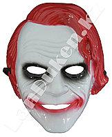 Маска Джокера (красные волосы)