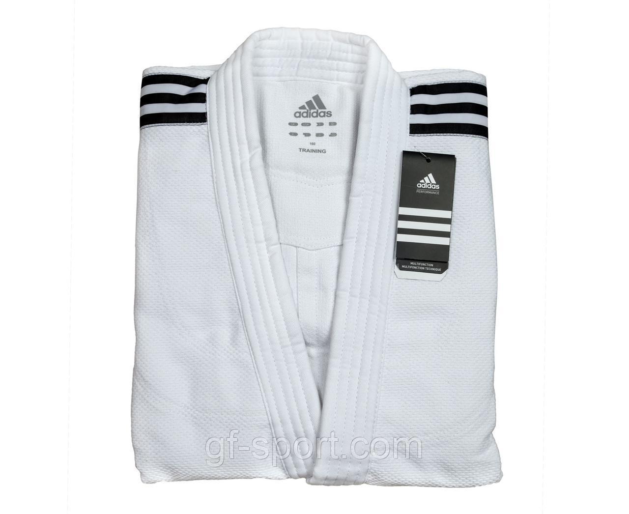 Кимоно для дзюдо Adidas 1000 г/м2(белое)