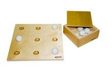 Доска для выкладывания крупных шаров(ящик со стеклянными шариками)
