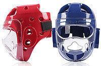 Шлем для тхэквондо и каратэ с забралом