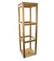 Подставка для рамок с застежками (вращающаяся) (31*31см, h=110см)