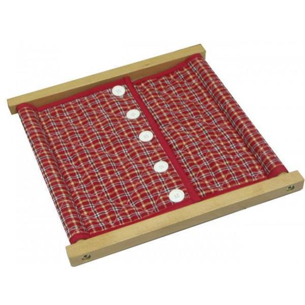 Рамка с большими пуговицами (30,5*33 см.)