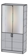 Шкаф для кабинета врача ШФ 01.002
