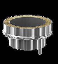 Заглушка с конденсатосборником d115/200