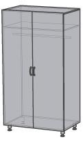 Шкаф для одежды ШФ 01.006