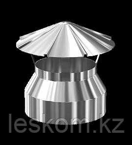 Заглушка-сэндвич верхняя с зонтом D200/280, ПРОФИ